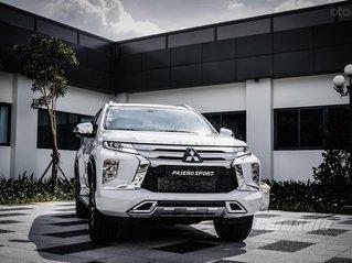 Cần bán xe Mitsubishi Pajero Sport đời 2021, màu trắng, nhập khẩu nguyên chiếc