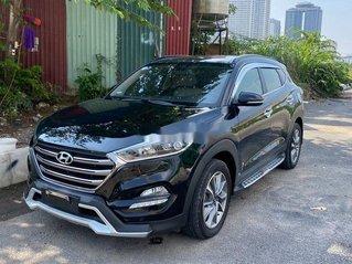Cần bán lại xe Hyundai Tucson đời 2017, màu đen