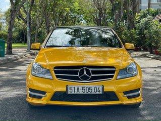 Bán Mercedes C300 AMG  2012, màu vàng