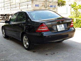 Bán Mercedes C class 2004, màu đen còn mới