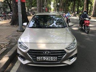 Bán xe Hyundai Accent 1.4AT năm 2019, màu bạc chính chủ
