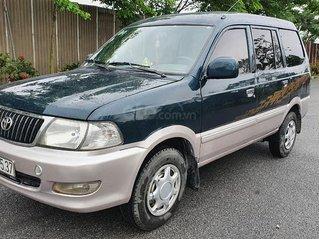 Bán Toyota Zace năm 2004, màu xanh lục số sàn giá cạnh tranh 138tr