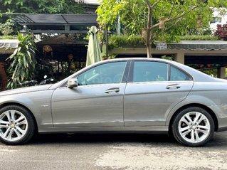Bán Mercedes C200 sản xuất năm 2011, màu xám còn mới, giá 476tr