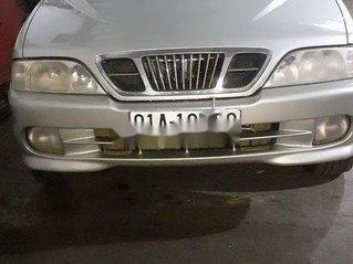Cần bán xe Ssangyong Musso 2000, màu bạc chính chủ, giá chỉ 110 triệu