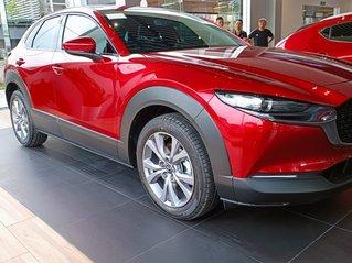 Mazda CX 30 all new 2021, sẵn xe giao ngay, nhận xe với 260tr, hỗ trợ bank 85% giá trị xe