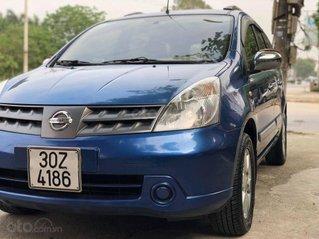 Cần bán lại xe Nissan Grand livina đời 2010, màu xanh lam