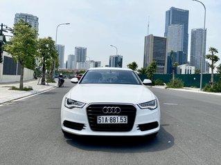 Bán Audi A6 sản xuất 2014 màu trắng siêu mới