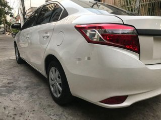 Bán ô tô Toyota Vios năm sản xuất 2015, màu trắng số sàn