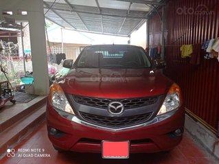 Cần bán gấp Mazda BT 50 đời 2015, màu đỏ, nhập khẩu nguyên chiếc số tự động, 463 triệu