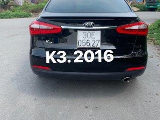 Bán xe Kia K3 sản xuất 2016, màu đen, 485 triệu