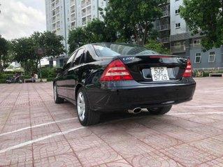Bán ô tô Mercedes C180 Sport sản xuất 2005, màu đen số tự động, giá chỉ 195 triệu