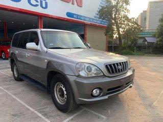 Cần bán lại xe Hyundai Terracan 2003, màu bạc số sàn