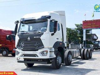 Bán xe tải Howo 4 chân Man VX350 tại Hà Nội năm 2021 với giá tốt nhất