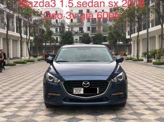 Cần bán Mazda 3 2018, màu xanh