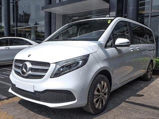 Xe 100% nhập khẩu Mercedes V250 Luxury 2021, màn hình Mbux, xe có sẵn giao ngay