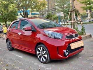 Cần bán lại xe Kia Morning sản xuất 2017, màu đỏ chính chủ, giá 335tr