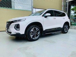 Cần bán lại xe Hyundai Santa Fe bản đặc biệt đời 2019, màu trắng, xe nhập
