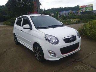 Cần bán lại xe Kia Morning sản xuất 2011, màu trắng còn mới, 193tr