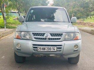Xe Mitsubishi Pajero V73 năm sản xuất 2003, màu bạc, xe nhập