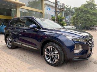 Cần bán lại xe Hyundai Santa Fe sản xuất năm 2019, màu xanh lam, giá 1,090 tỷ