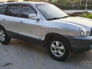 Cần bán lại xe Hyundai Santa Fe 2.0 AT đời 2004, màu bạc, nhập khẩu