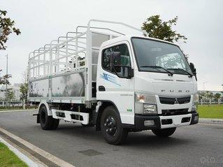 Xe tải 1,9 tấn Mitsubishi Fuso Canter TF4.9 thùng dài 4,45m đời 2021, mới 100%. Trả trước 180tr