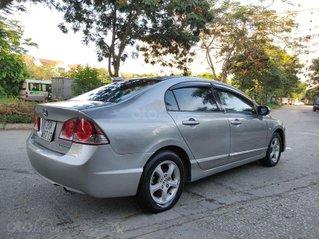 Bán xe Honda Civic sản xuất năm 2008, màu bạc số tự động
