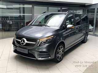 Limousine 6 chỗ cao cấp đầu bảng - Mercedes-Benz V250 AMG model 2021