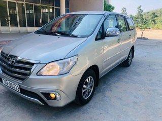 Bán Toyota Innova sản xuất năm 2008, màu bạc, nhập khẩu nguyên chiếc