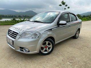 Bán Daewoo Gentra năm sản xuất 2009, màu bạc