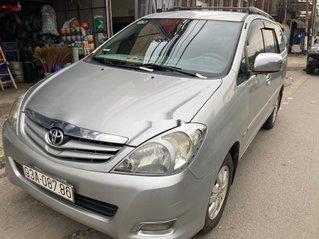 Bán Toyota Innova đời 2009, màu bạc, giá 335tr