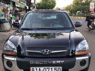 Cần bán lại xe Hyundai Tucson đời 2009, màu đen, xe nhập số sàn