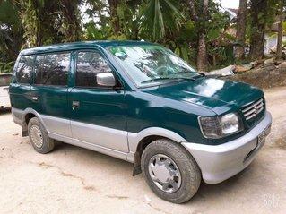 Bán Mitsubishi Jolie đời 2000, màu xanh lam xe gia đình