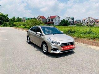 Bán Hyundai Accent đời 2018, màu vàng cát