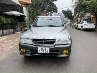 Cần bán lại xe Ssangyong Musso đời 2004, màu bạc, xe nhập