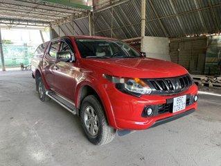 Bán ô tô Mitsubishi Triton 2018, màu đỏ, xe nhập