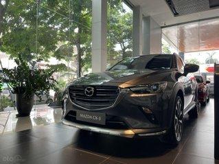 Mua ngay Mazda CX3 2021 nhập khẩu Thái Lan, giảm ngay 10tr tiền mặt, hỗ trợ bank 85% giá trị xe, đủ màu giao ngay