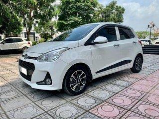 Bán ô tô Hyundai Grand i10 2018, màu trắng còn mới, 375tr