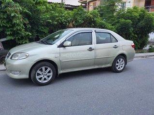 Bán Toyota Vios 1.5G 2003, màu vàng cát