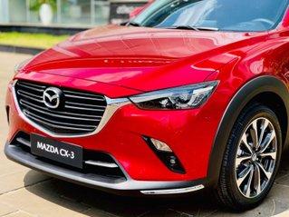 Mazda Vinh - CX3 nhập khẩu Thái Lan, giảm 10tr, tặng gói phụ kiện - giao xe cuối tháng 6 đầu tháng 7