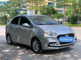 Cần bán gấp Hyundai Grand i10 2019, màu bạc số sàn