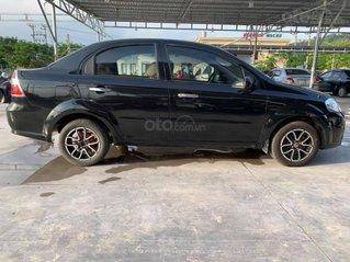 Xe Daewoo Gentra năm sản xuất 2009, màu đen
