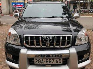 Cần bán xe Toyota Prado sản xuất năm 2007, màu đen, nhập khẩu nguyên chiếc