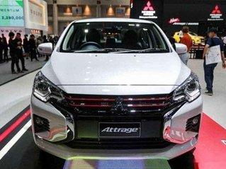 Cần bán Mitsubishi Attrage MT năm sản xuất 2020, màu trắng còn mới, giá tốt