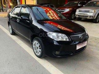 Bán Toyota Vios 1.5 MT đời 2005, màu đen số sàn, giá tốt