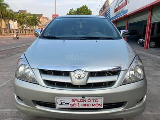 Bán xe Toyota Innova đời 2007, màu bạc giá cạnh tranh 255tr