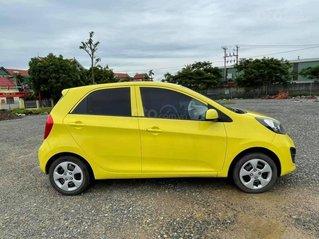 Xe Kia Morning năm sản xuất 2014, màu vàng giá cạnh tranh
