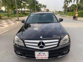 Cần bán gấp Mercedes sản xuất 2008, màu đen