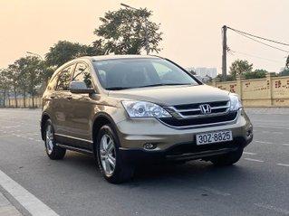 Xe Honda CR V 2.4 2010 phiên bản 2011 vàng cát, 1 chủ