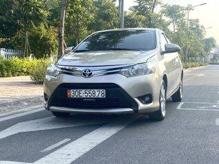 Toyota Vios 1.5E AT 2016, vàng cát, giá chỉ 415 triệu